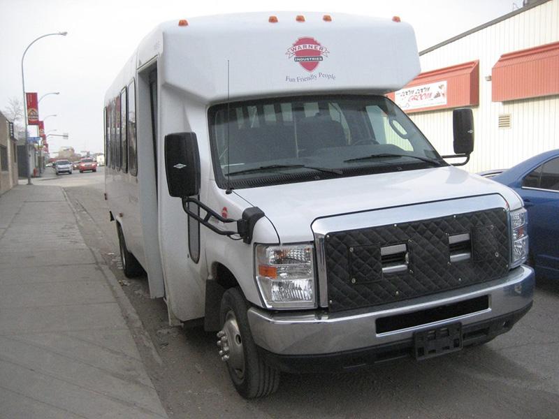 Commercial Bus Paint Job